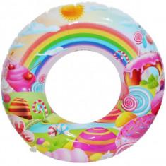 Colac baie gonflabil, cu desene, 60 cm