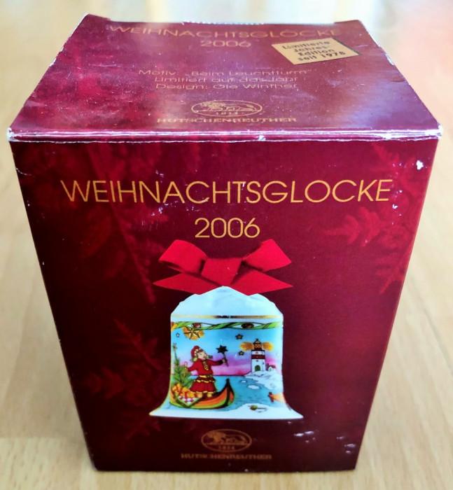 Clopotel - Hutschenreuther - cutie originala - 2006 - NOU !