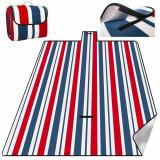 Pătură outdoor din polar picnic impermeabilă 200x220 cm