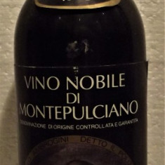 A66 -VIN NOBILE DI MONTEPULCIANO, DOC, recoltare 1983  cl 75 gr 12,5