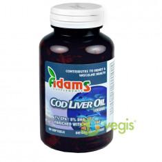 Ulei din Ficat de Cod (Cod Liver Oil) 1000mg 90cps