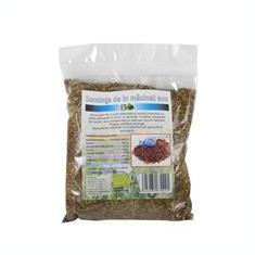 Seminte de In Macinate Bio 250 grame Deco Italia Cod: 6426282670221