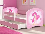 Patut Tineret MyKids Fairy cu Sertar si Saltea 160x80