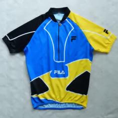Tricou ciclism FILA; marime XXL, vezi dimensiuni exacte; impecabil, ca nou