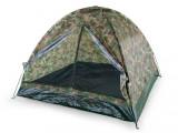 Cort camping 4 persoane, tip Iglu, Camuflaj, 200x200x130 cm