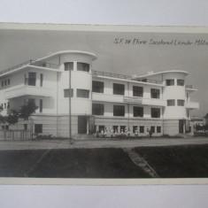 Rara! Eforie-Sanatoriul liceelor militare,carte postala foto necirculata anii 30, Fotografie