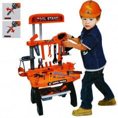 Banc de lucru pentru copii cu unelte 74 piese
