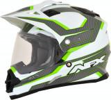 Casca Cross/ATV AFX FX-39 Veleta Dual Sport culoare verde/alb/gri marime XS Cod Produs: MX_NEW 01105023PE