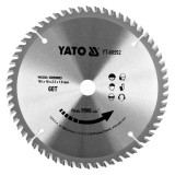 YATO Disc circular pentru lemn 165x60Tx16 mm compatibil cu YT-82810, YT-82811