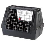 Cușcă de transport câini pentru automobil Ferplast ATLAS CAR 80 SCENIC, neagră