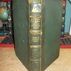 P.A. MAINESCU - LEGEA DE EXPROPRIERE PT. CAUZA DE UTILITATE PUBLICA , ANEXE,1927