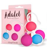 Cumpara ieftin Bile Vaginale, Adalet Kit 4 Kegel Balls Silicone