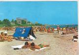Bnk cp Mangalia - Plaja - circulata, Printata