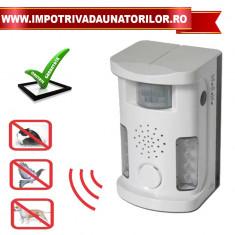 Bird UltrasoundRepellerUAF03–aparat anti pasari,caini,pisici