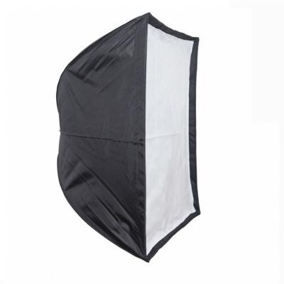 Softbox 70x70cm cu deschidere tip umbrela si montura Bowens foto