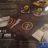 Board game games off thrones