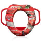 Reductor moale pentru toaleta cu manere, Lorelli, Cars Red