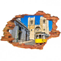 "Sticker ""Wall Crack"" Lisabona 3 - 120 x 80 cm"