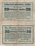 1915, 20 Kapeikas (LAT-21) - Mitau/Jelgava (Letonia)