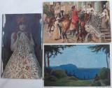 3 CARTI POSTALE (AUSTRO-UNGARE) - REPRODUCERI, Circulata, Printata