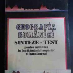 Geografia Romaniei Sinteze - Test Pentru Admiterea In Invatam - Luminita Marin Basarab ,547308