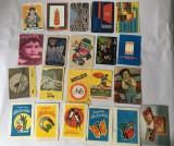 Lot 21 calendare de buzunar anul 1988, colectie, vintage