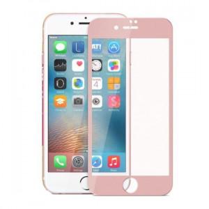 Folie sticla iPhone 7 3D RoseGold