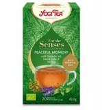 Ceai pentru Simturi Momente Linistite Bio 20pl Yogi Tea Cod: YT440201