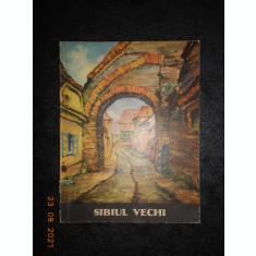 HANS HERMANN - SIBIUL VECHI. 11 CARTI POSTALE (1970)