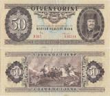 1986 ( 4 XI ), 50 forint ( P-170g ) - Ungaria - stare XF+