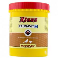 Klaus Supliment Pasari FAUNAVIT-Z Mineral 8929, 1kg