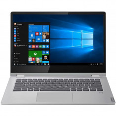 Laptop 2-in-1 Lenovo 15.6'' IdeaPad C340, FHD IPS Touch, Intel Core i7-1065G7, 8GB DDR4, 1TB SSD, Intel Iris Plus, Win 10 Home, Platinum