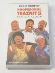Caseta video VHS originala film tradus Ro - Profesorul Traznit II foto