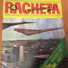 RACHETA CUTEZATORILOR  Nr 4 ( Anul 2 )  Aprilie  1970