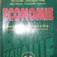 ECONOMIE - ILIE GAVRIL , PAUL TANASE