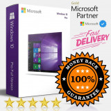 Windows 10 Pro Professional 32/64 Bit️ ✔ Activarea licenței pe viață ✔, Microsoft