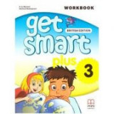 Get Smart Plus 3 Workbook + CD-ROM British Edition - H. Q. Mitchell, Marileni Malkogianni