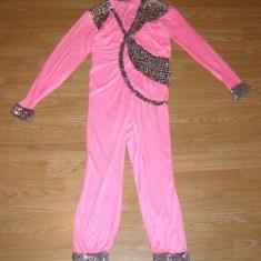 Costum carnaval serbare salopeta dans balet gimnastica pentru copii de 9-10 ani, Din imagine