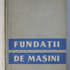 FUNDATII DE MASINI de GH. BUZDUGAN ...V . WERMESCHER , 1958