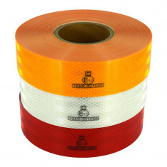 Banda reflectorizanta ROSIE tip fagure 5cm X 45.7m omologata U.E AL-220219-5