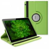 Husa pentru Huawei MediaPad T3 10, Piele ecologica, Verde, 41887.07