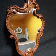 Superbă oglinda antica in stilul Rococo