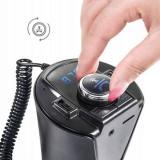 Modulator auto  BX6, Bluetooth, FM, 2 x USB, Modulator FM Stereo