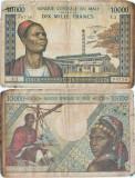 1970, 10.000 francs (P-15d) - Mali!