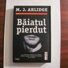 "PVM - M. J. ARLIDGE ""Baiatul Pierdut"" / necitita"