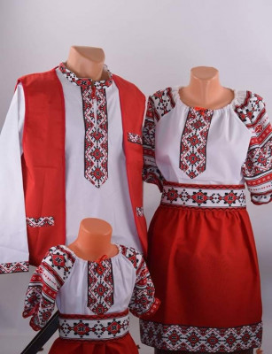 Costume traditionale dama si barbat noi foto