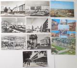 Lot 10 Carti Postale RPR + RSR Ploiesti - Anii 1960-1970, Circulata, Fotografie