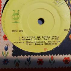 Raveca Sandulescu - Raritate (EPC490/Electrecord) - Vinil format mic - 33 rpm/VG