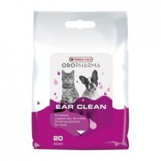Servetele umede pentru urechi Oropharma, caini si pisici 20 buc