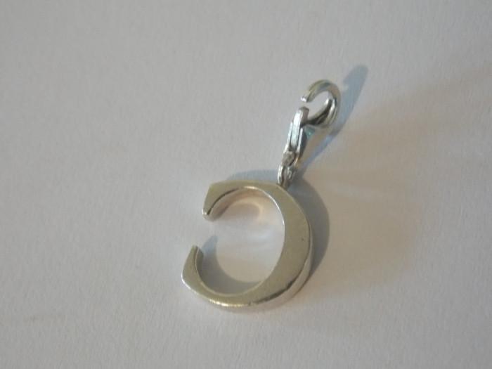 """Pandant argint litera """"C"""" Thomas Sabo -2796"""